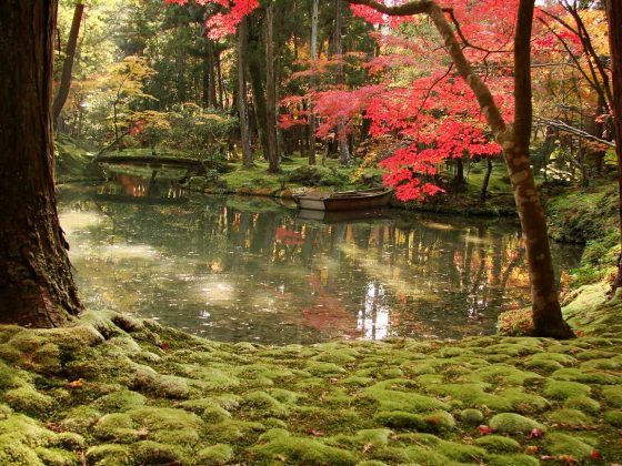 Buddhist Ceremony Traditional Japanese Garden: Top 5 Japanese Gardens You Must-see In Kyoto