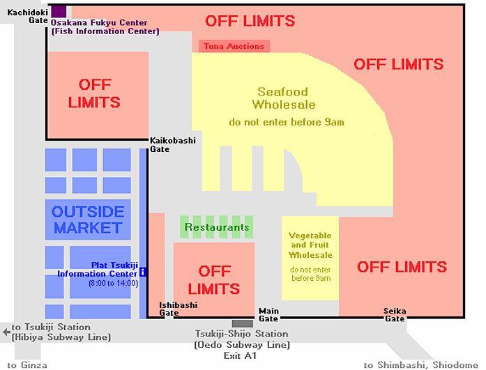 tokyo tsukiji market map 2