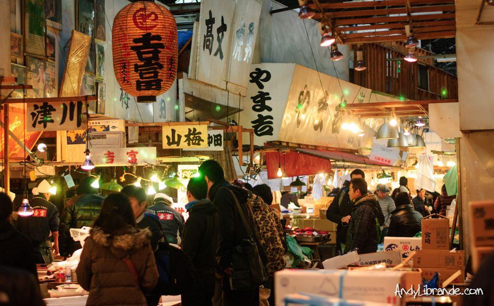 Visiting tsukiji fish market the largest fish market in for Closest fish market