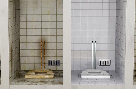Photo: Squat Toilets via Shutterstock
