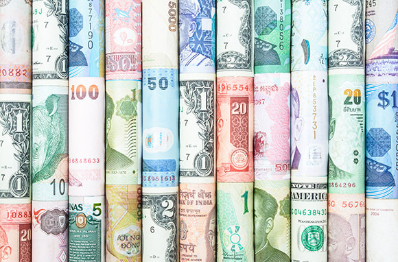 Photo: Different Currency via Shutterstock