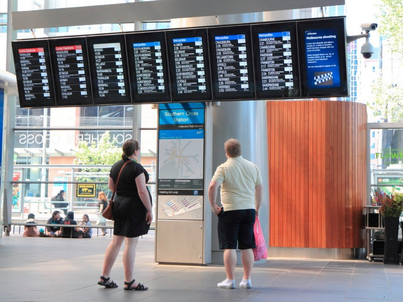2 flight secrets - airport departure arrival board