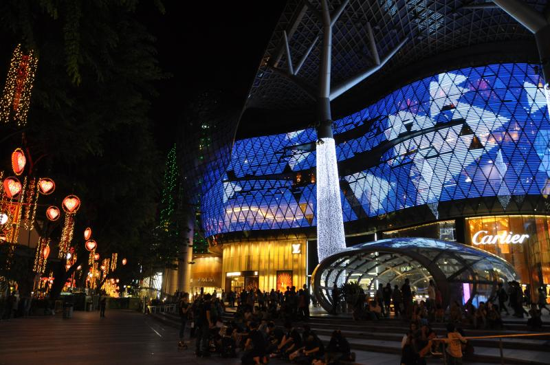 See this all from a different perspective atop ION Orchard. Michael Gwyther-Jones / Flickr