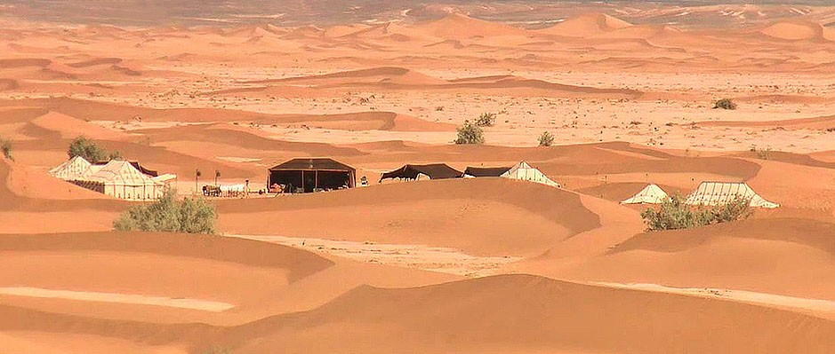 Camping in the desert morocco guides tips
