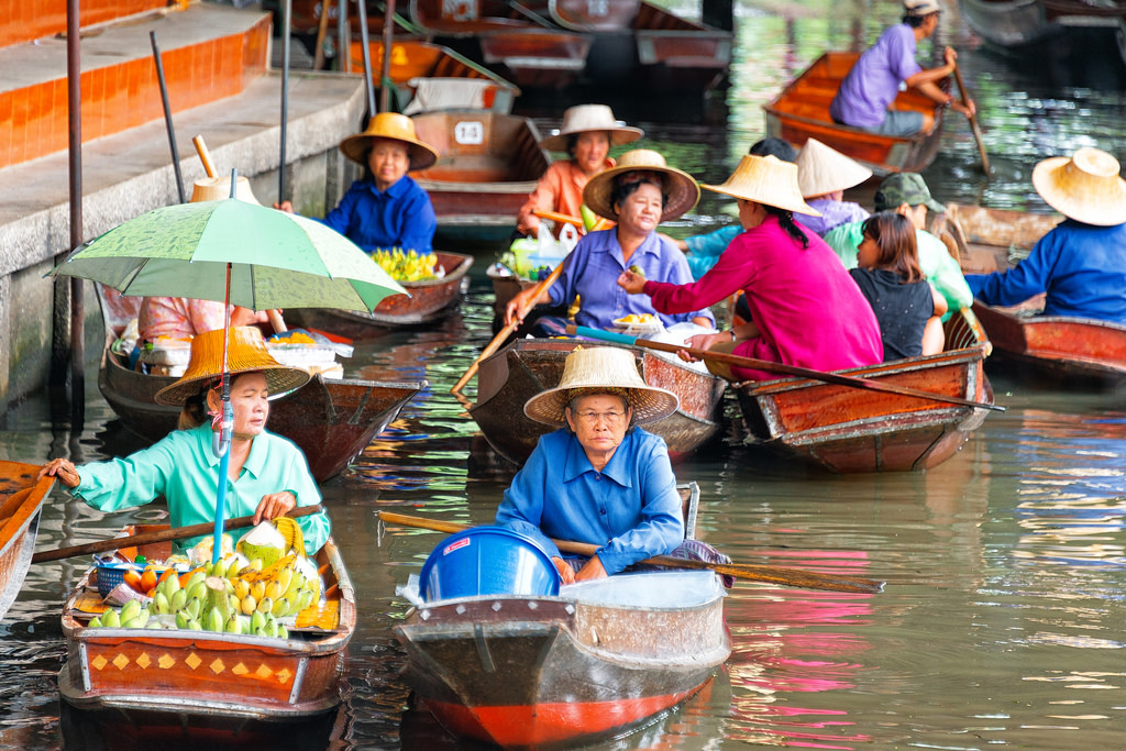 Damnoen-Saduak-floating-market-bangkok-thailand-7