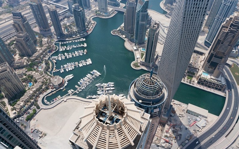 Dubai from above series photos13