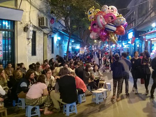 Ta Hien Street (Beer Corner), Hanoi
