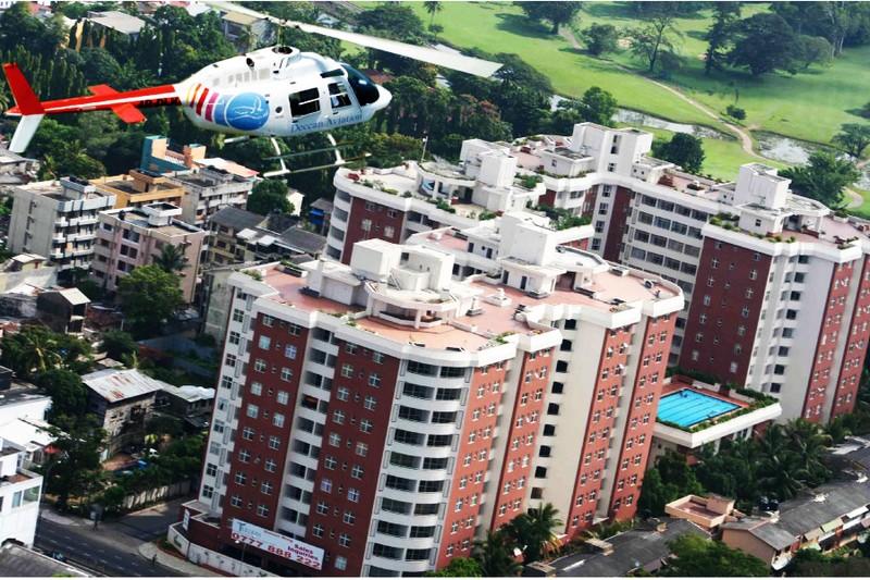 Helicopter tours in Sri Lankawww.flysrilanka.lk