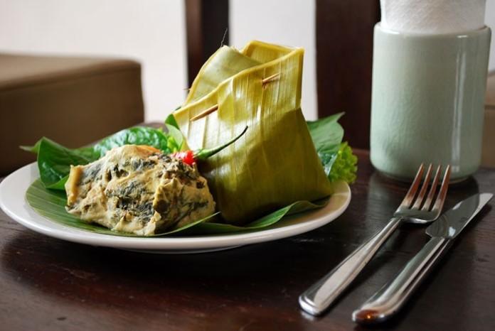Laotian food - Mok Pa