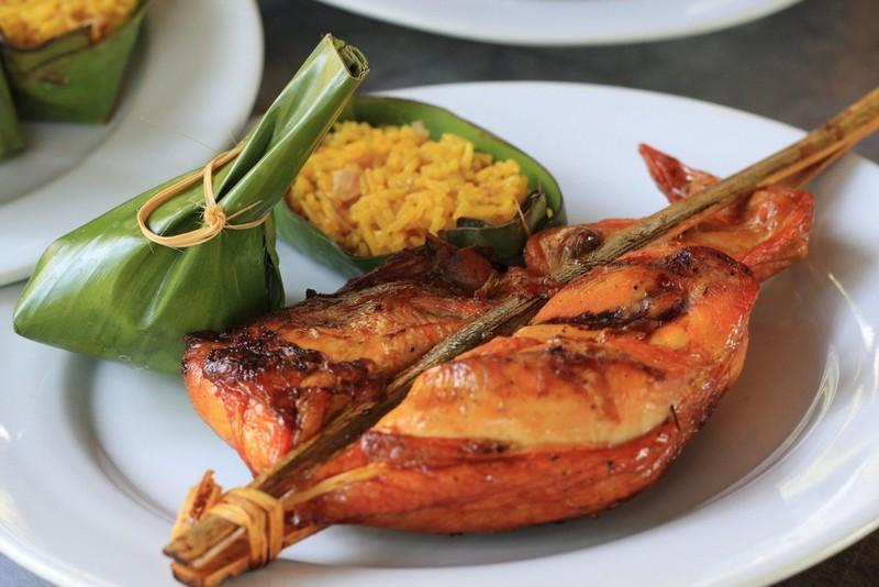 Laotian food - Ping Kai