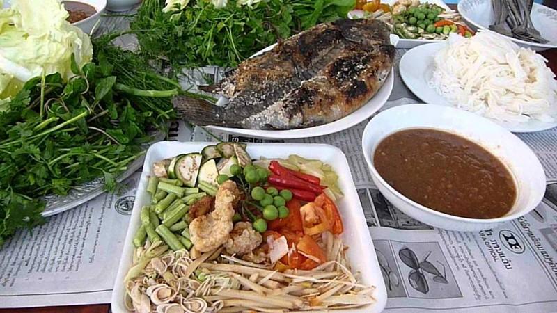 Laotian food - Pun Pa