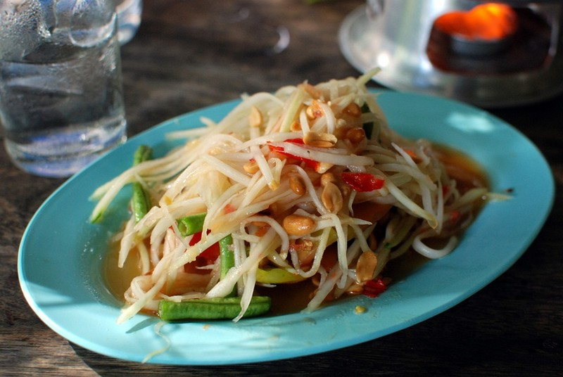 Laotian food - Tam Mak Houng