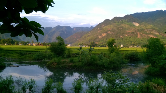 … for the tranquility of Mai Chau, Vietnam