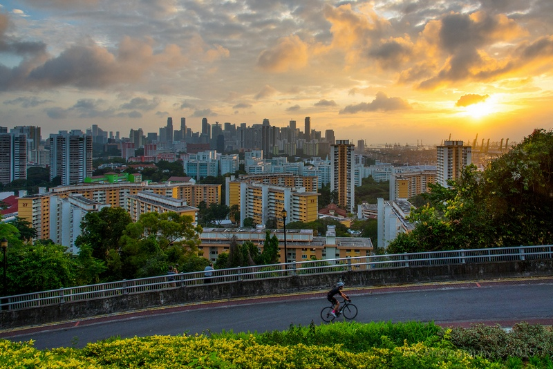 Mount Faber Park. Photo by Wei Kuan Tay