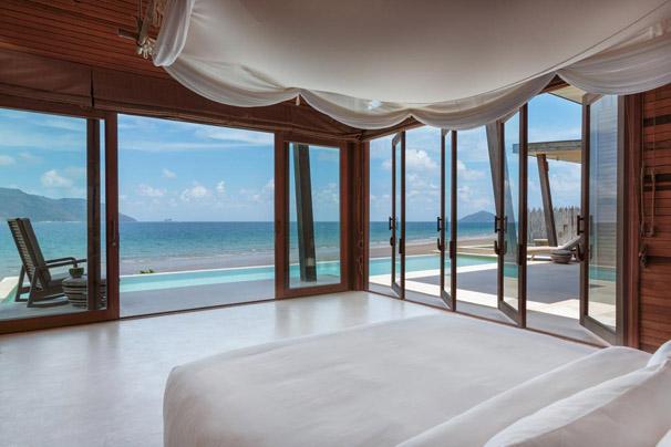 Six Senses Resort Con Dao stunning beach view