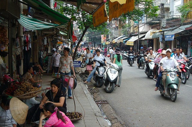 Old Town, Hanoi old quarter streets