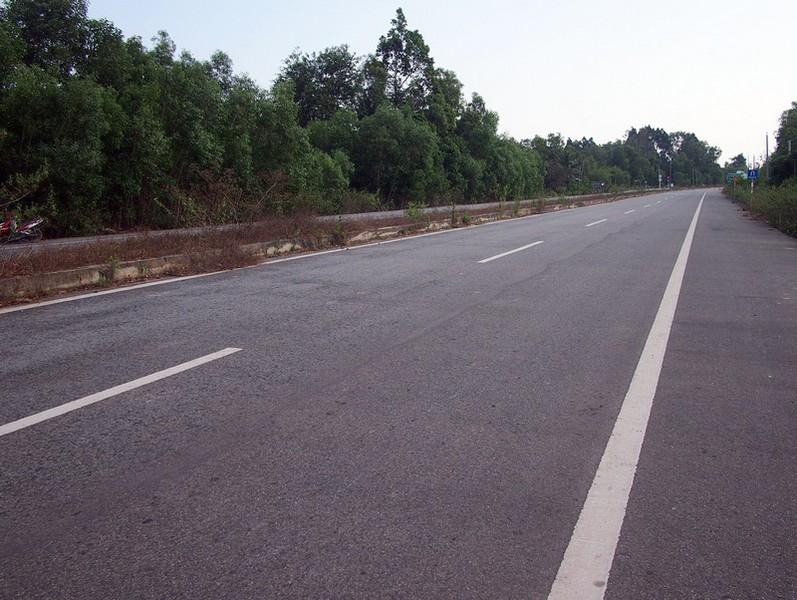 Phu Quoc Island 4 lane highway