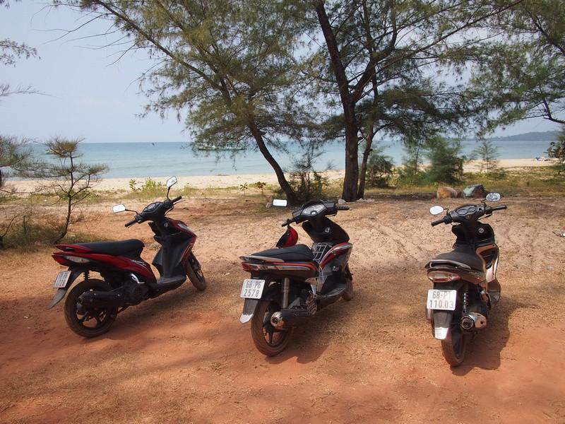 Phu Quoc Island Bike parking