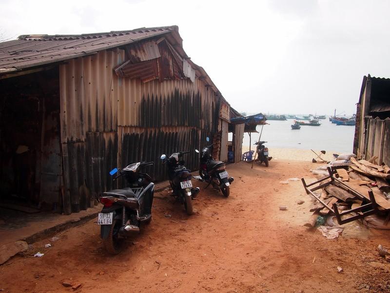 Phu Quoc Island Entrance to fishing village