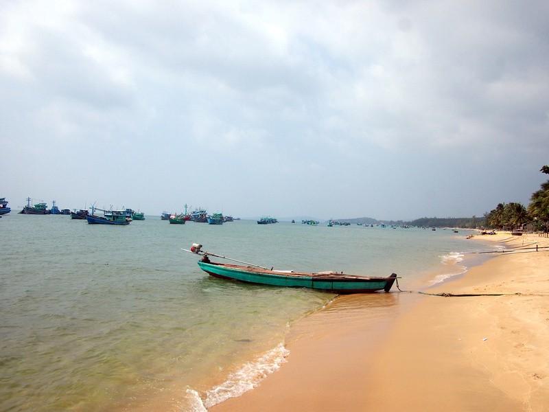 Phu Quoc Island Fishing beach