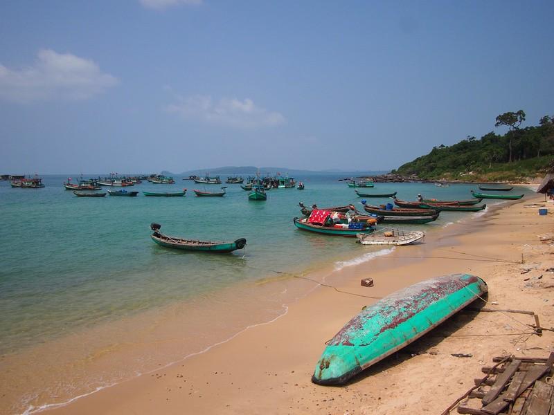Phu Quoc Island Fishing boats