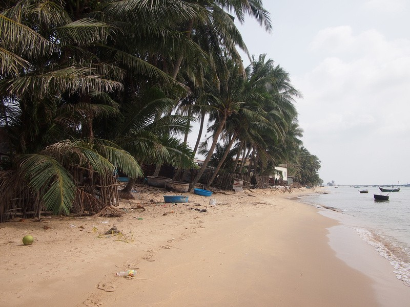 Phu Quoc Island Fishing village beach