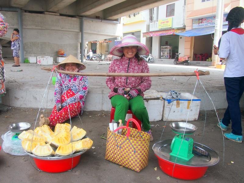 Phu Quoc Island Jackfruit lady