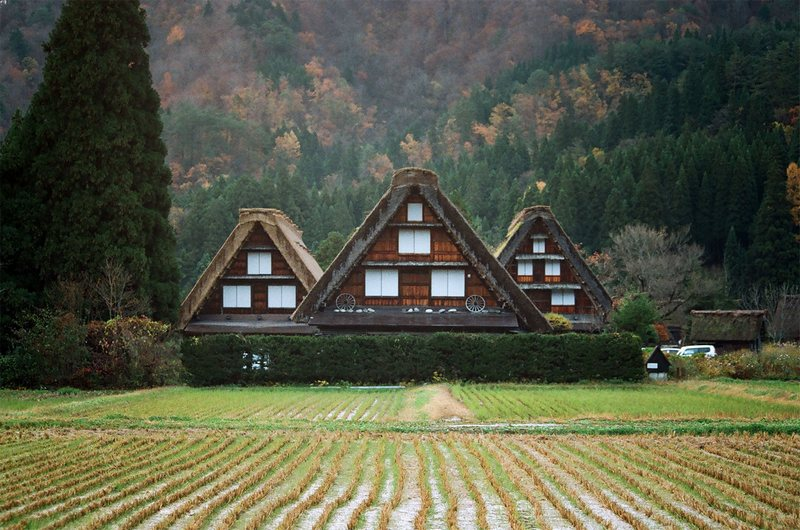 Shirakawa-go, Gassho-zukuri, Gassho Style, Minka, World Heritage Site, UNESCO, Shirakawa, Shirakawa-mura, Gifu, Japan