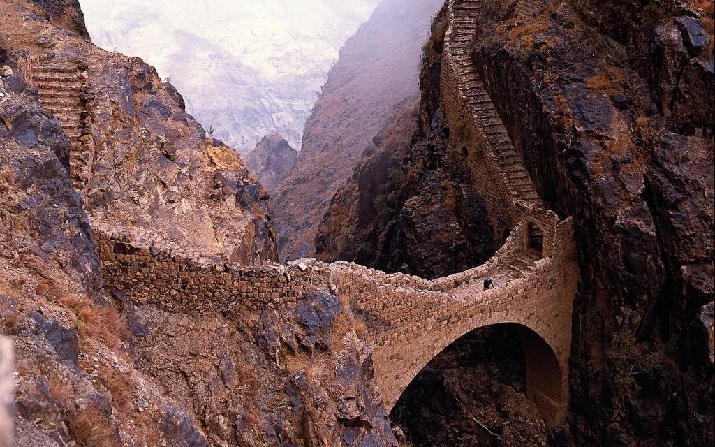 The Shahara Bridge – Yemen