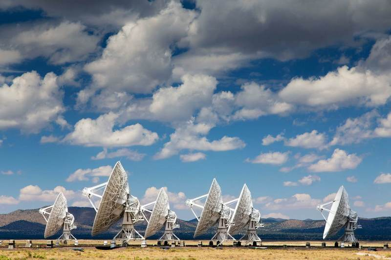 The Very Large Array is a radio observatory that studies objects in deep space © Westend61 / Westend61 / Getty