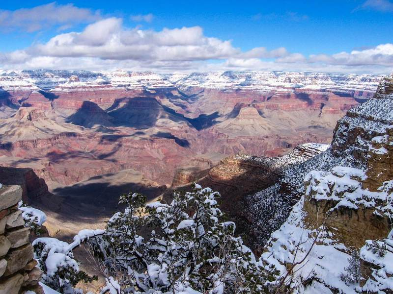 The view from the South Kaibab Trail © melpilgrim / Budget Travel