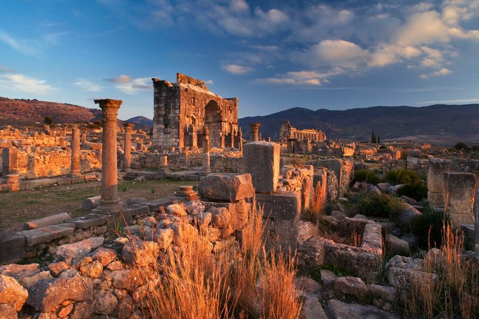 Volubilis ruins morocco
