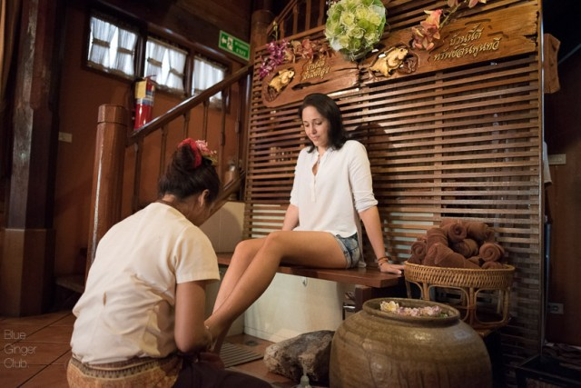 What is better than a relaxing foot massage after a long day of sightseeing? Correct: nothing!