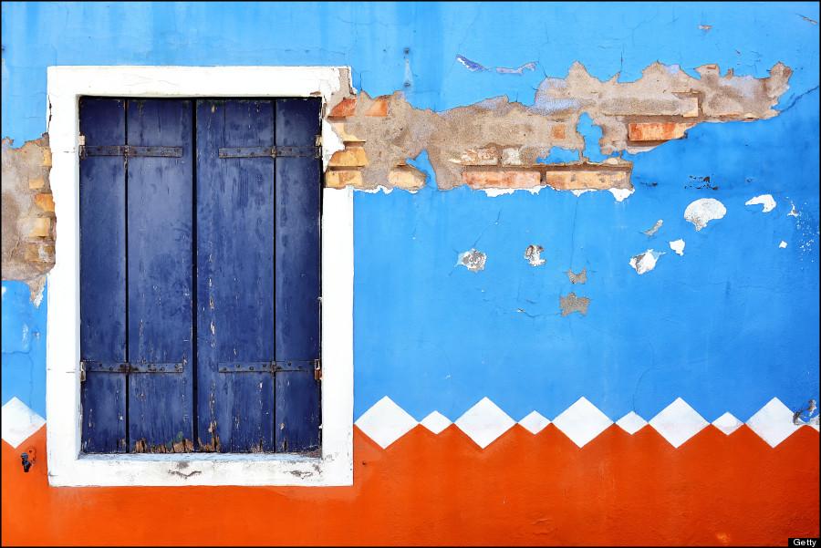 Burano style window
