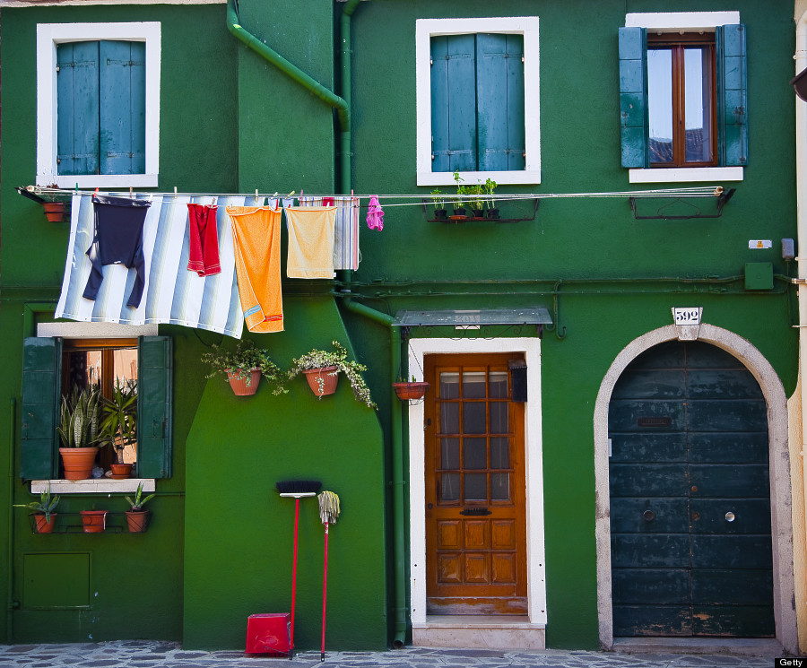 Burano cleaning day