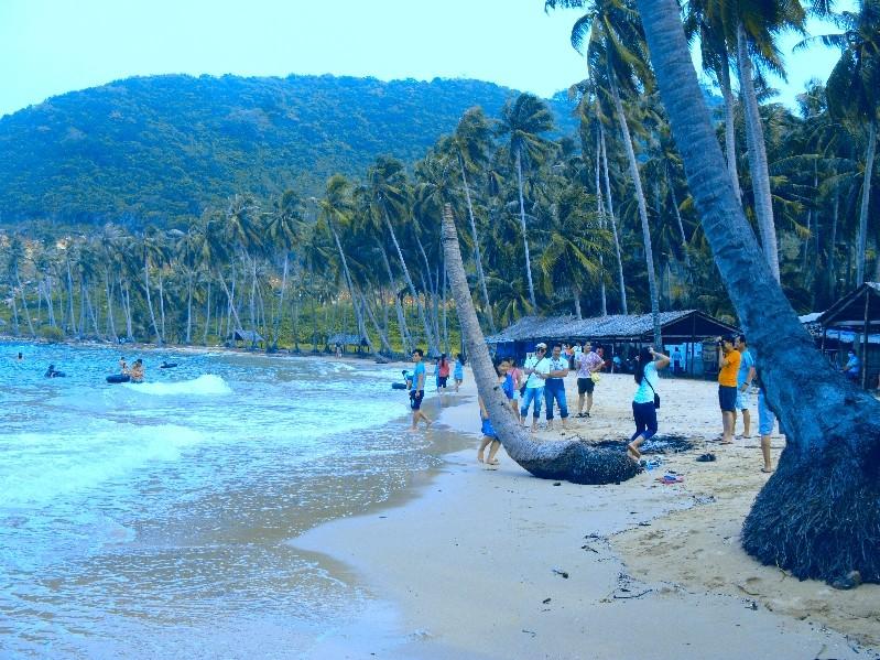 cay men beach nam du islands kieng giang vietnam 2
