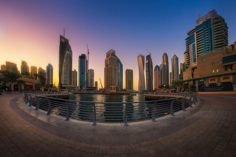 dubai-city-in-the-sunset