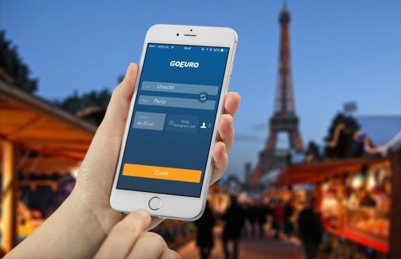 GoEuro App. Photo iphoned.nl