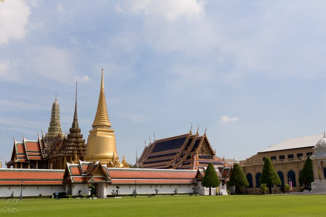Full view on the Grand Palace