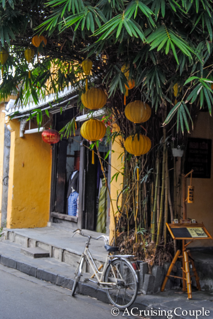 Hoi An Lanterns on Bamboo Tree
