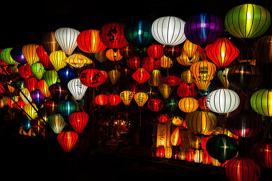 Magical lanterns of Hoi An