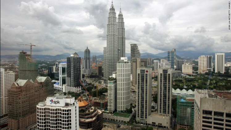 10. Kuala Lumpur, Malaysia - Tenth-ranked Kuala Lumpur saw 11.63 million visitors, making it the sixth-ranked Asian city.