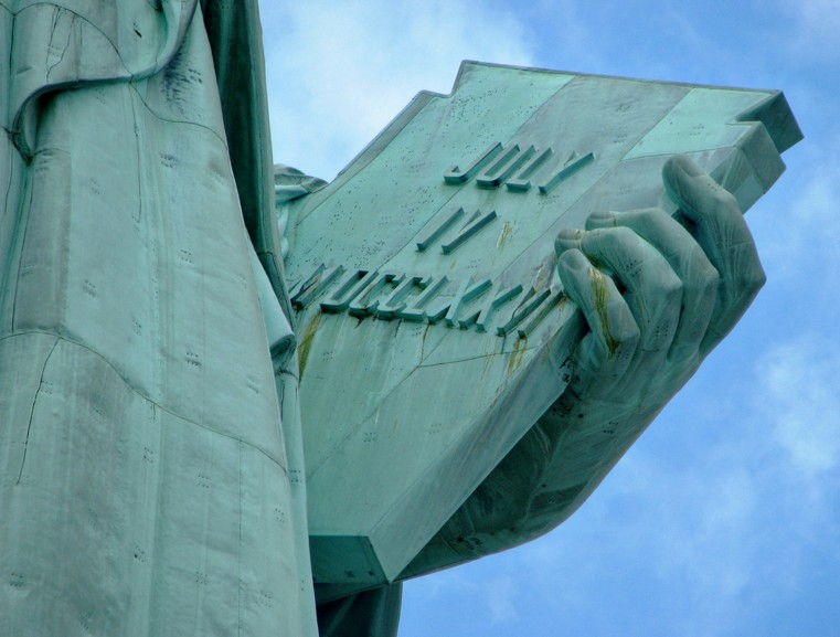 Lady Liberty's Book. Image by Still Burning