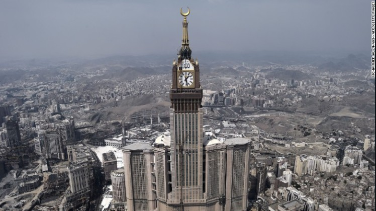 23. Mecca, Saudi Arabia - Islamic pilgrimage center Mecca pulled in 6.12 million international visitor arrivals, an increase of 6.2% on the previous year.