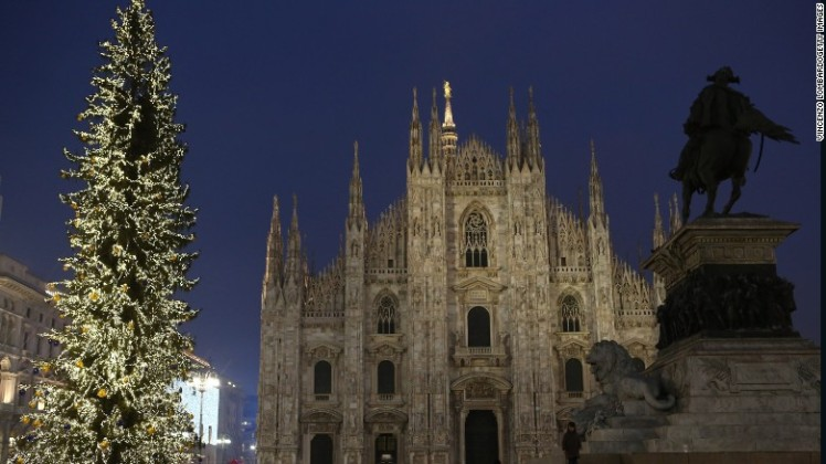 24. Milan, Italy - Italian fashion capital Milan welcomed 6.05 million international arrivals in the same period.