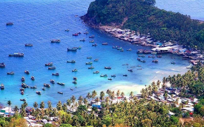 nam du islands kieng giang vietnam