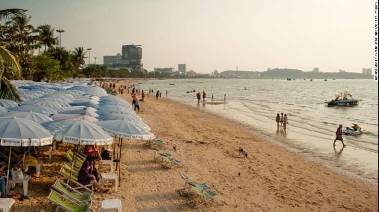 19. Pattaya, Thailand - The Thai beach resort town of Pattaya holds steady at number 19 on the chart, despite an 8% drop in visitor numbers to 6.43 million.
