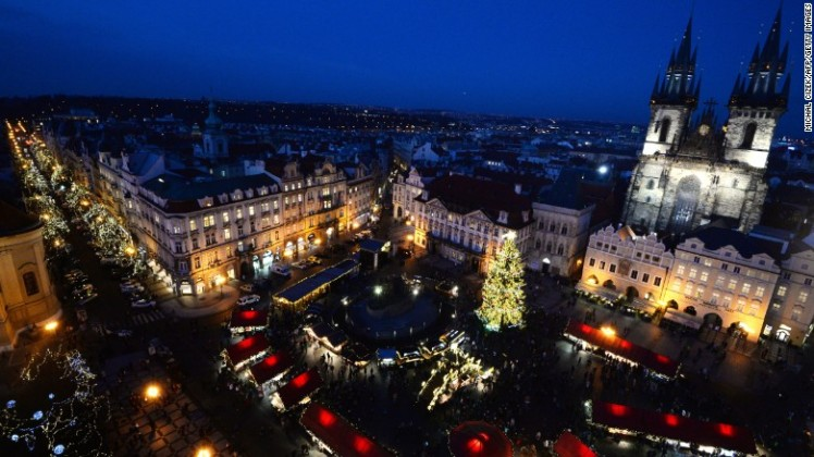 21. Prague, Czech Republic - Home to the largest castle in the world, Prague welcomed 6.35 million international visitors.