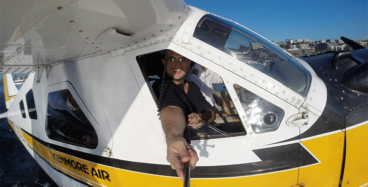 Yeison flying in Costa Rica. Image theexpatchat.com