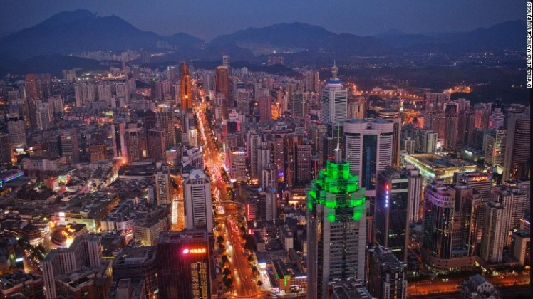 7. Shenzhen, China - In the 1980s it was just a small town in southern China. Today Shenzhen is an economic powerhouse that in 2014 welcomed 13.1 million international visitors.